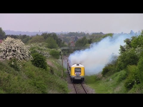 HST prototype 41001 Public Launch at the Great Central Ra...