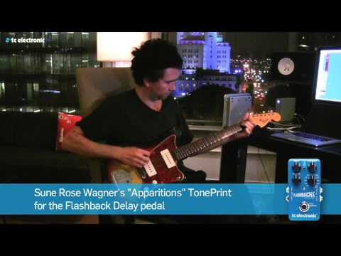 "Sune Rose Wagner (The Raveonettes) demoes his ""Apparitions"" Delay TonePrint"