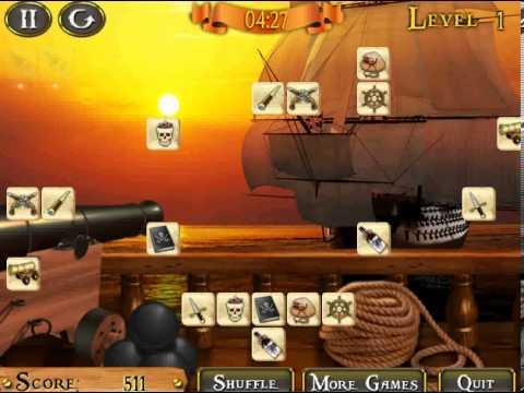 Video of Pirate Ship Mahjong Free