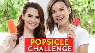Download Youtube: POPSICLE CHALLENGE! w/ Ingrid Nilsen