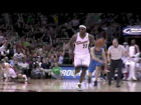 LeBron recovers a Magic turnover & goes coast to coast for the dunk!