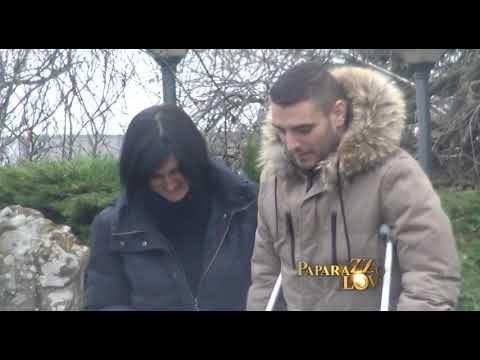 Darko Lazić prvi put snimljen kako hoda na štakama