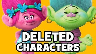 Trolls DELETED CHARACTERS & Rejected Concepts - DreamWorks Animation