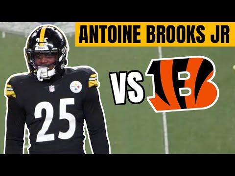 Master Moats Film Session: Ep.73 (Pittsburgh Steelers Antoine Brooks Jr vs Cincinnati Bengals)