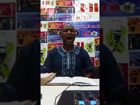 PASTOR ASANLAYE LIVE ON AIR ON IMPACT RADIO FM 92.5