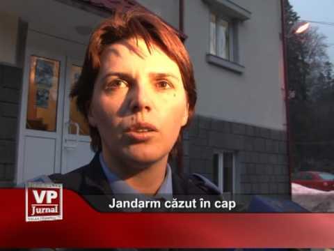 Jandarm căzut în cap