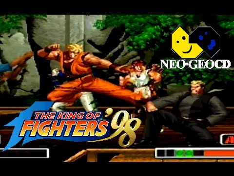 The King of Fighters '98 playthrough (Neo Geo CD)
