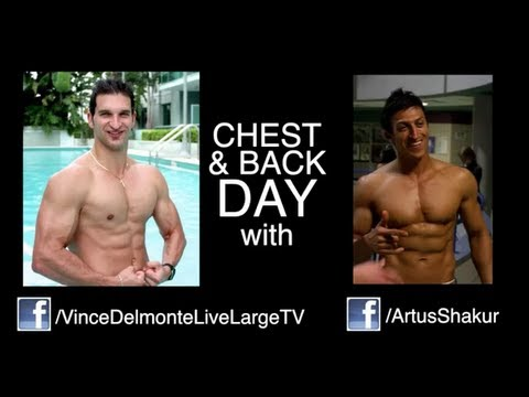 VinceDelMonte - DOWNLOAD 1000 REP MUSCLE WORKOUT *FREE* with Vince & Artus - http://www.yourfreefitnessgifts.com/christmas-gifts.php ================== Chest and Back Workou...