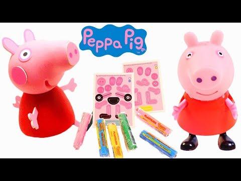 Mejores Videos Para Niños - Peppa Pig Clay Buddies Play Doh Fun Videos For Kids
