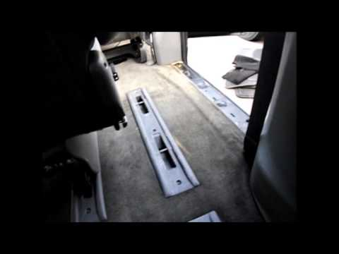 How to remove your 1996-2007 Dodge Caravan, Chrysler T&C&Voyager easy out roller seats