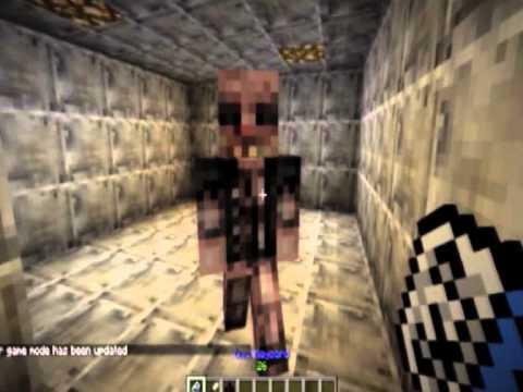SCP containment breach in Minecraft