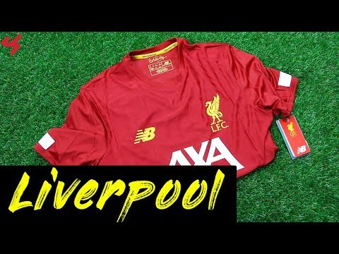 New Balance Liverpool FC 2019/20 Pre-Game Jersey Unboxing + Review