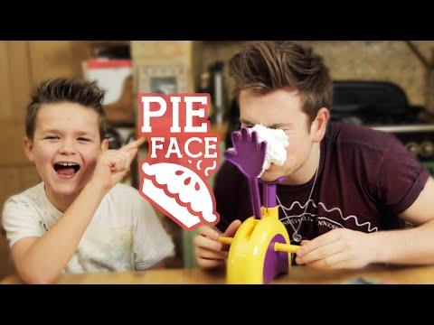 sfida delle torte in faccia