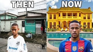 Video 10 Footballers Houses - Then and Now - Ronaldo, Neymar, Messi, ...etc MP3, 3GP, MP4, WEBM, AVI, FLV Juli 2018