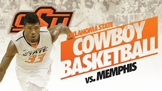 #7 Oklahoma State Vs. #11 Memphis - 2013 Basketball Highlights