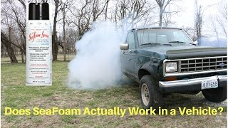 Seafoam--can't believe what it did to my engine!!
