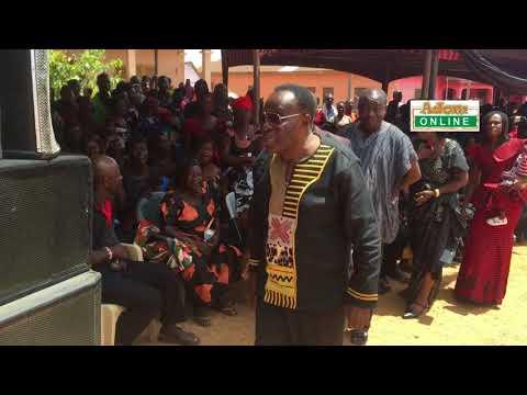 Osofo Dadzie mourns Super OD. (видео)
