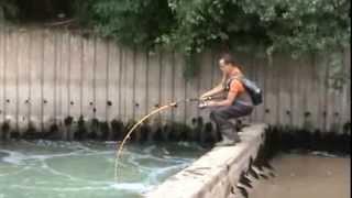 A ryby łowię właśnie tak! Ciekawa miejscówka, piękna ryba i niesamowita walka!