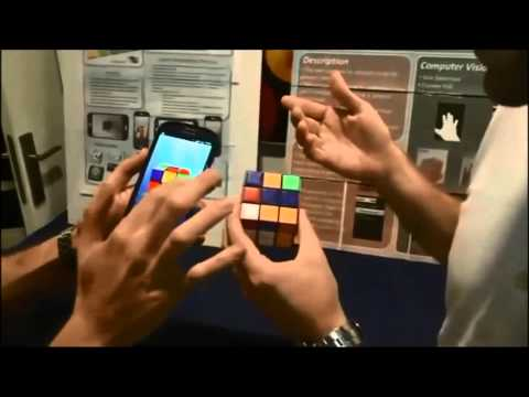 Video of Cube Solver