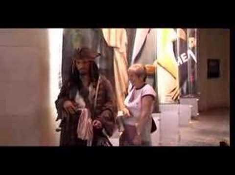 Jack Sparrow w muzeum figur woskowych