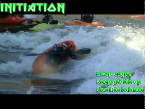 TVFreestylers Freestyle Kayak Tricks Workshop: Clean Blunts