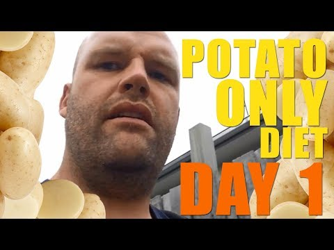 This Man is ONLY Eating Potatoes for the ENTIRE YEAR!