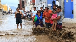 """♡ http://www.bibleprophecygirl.wordpress.comCurrent News of March 2017""""At least 72 people have died in several days of floods and mudslides triggered by heavy rains in Peru, officials say.""""♡ Resources:http://www.bbc.com/news/world-latin-america-39318034http://www.dw.com/en/peru-faces-more-rain-as-floods-and-landslides-make-thousands-homeless/a-38017320♡ Music: Leaving Earth by Nicolai Heidlas Music"""