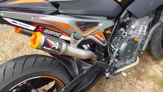 10. 2019 |Ultimate exhaust sound ktm duke 790 |Austin racing, arrow, leo vince, akrapovic |RIDEMOTO
