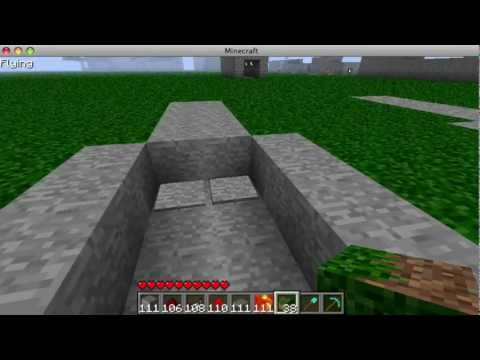 How to Make A Secret Piston Trap in Minecraft [HD]