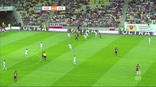 Video Lechia Gdask vs  FC Barcelona 1 half full HD 30-07-2013 MP3, 3GP, MP4, WEBM, AVI, FLV Maret 2018