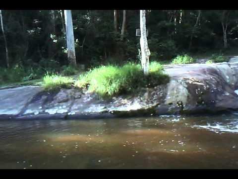 Cachoeira, uns 5km depois do Restaurante Senzala em Salesópolis