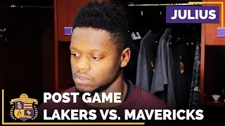 Julius Randle: 'I Think We Just Played Like Two Different Teams' by Lakers Nation