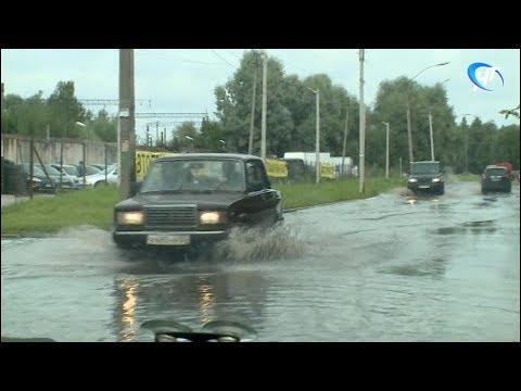 В ночь с 29 на 30 июля в Великом Новгороде выпало 166% от месячной нормы осадков