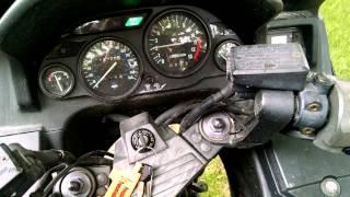 7. Cold Start Kawasaki Concours zg1000