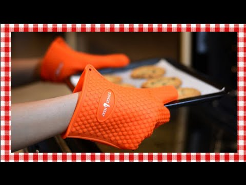 Touch Heat Silicone Oven Mitts Product Share & Review ~ Noreen's Kitchen