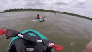 10. Crazy Tubing Wipeouts/ Sea-Doo Trixx & Yamaha EX Sport