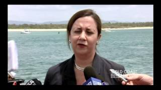 Annastacia Palaszczuk PLEDGES LABOR SUPPORT for NO TERMINAL