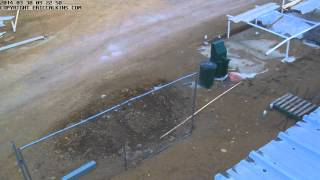 2014-03-30 - Estes Park Fairgrounds MPEC Time-Lapse