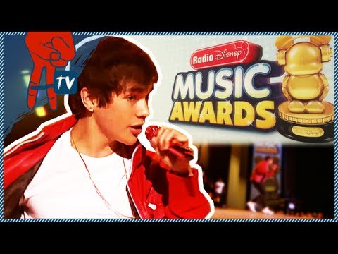 award - Austin Mahone was nominated for 5 awards at the Radio Disney Awards. AwesomenessTV interviews Austin on the red carpet before he performs live at the show! P...