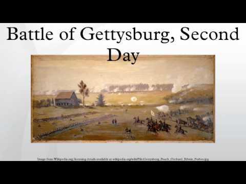 Battle of Gettysburg, Second Day