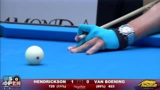2016 US Open 8-Ball - Final: Shane Van Boening vs Rory Hendrickson Video