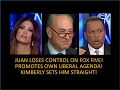 Juan Williams Loses Control On The Five Promotes Own Liberal Agenda Sucks The Air Out Of The Room