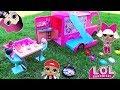 Download Lagu ЛОЛ сюрпризы на ПИКНИКЕ в Авто-домике! Куклы LOL SURPRISE Baby Dolls Мультик с игрушками для девочек Mp3 Free