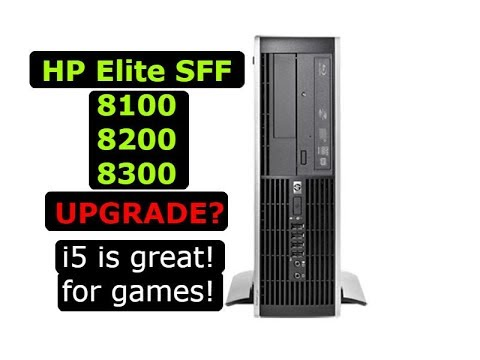 How to Upgrade or Replace Parts on HP Elite 8100, 8200, 8300 Small Form Factor Desktop