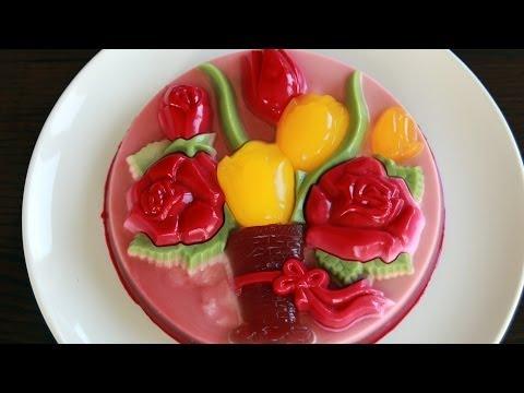 Vietnamese Jello Cake – Rau câu khuôn (Recipe)