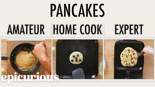 Video 4 Levels of Pancakes: Amateur to Food Scientist | Epicurious MP3, 3GP, MP4, WEBM, AVI, FLV Agustus 2019