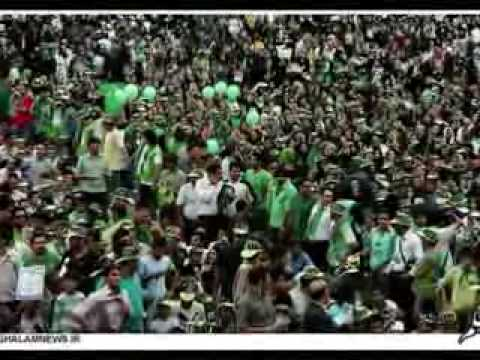 Mousavi Victory Music in Iran Presidential Election against Ahmadinejad with Iranian boys and girls (видео)