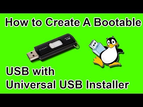 How to Create A Bootable USB Flash Drive with Universal USB Installer