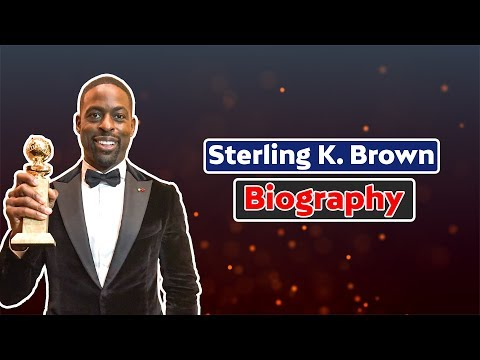 Sterling K Brown Biography | Wife | Income | Cars | Family | Sterling K Brown Net Worth