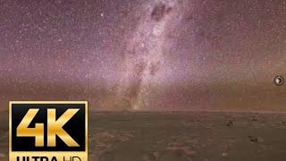 Noaptea pe Marte - filmare 4K Perseverance